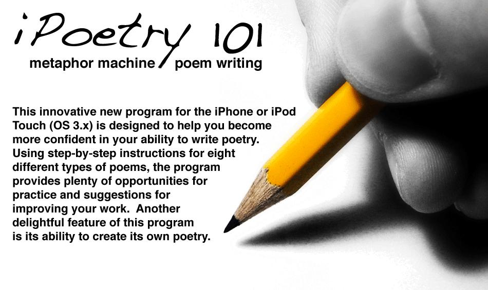 (... varieties: iPoetry 101 ; iWrite: Love Poems ; iWrite: Sexy Poems)